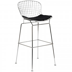 CAD Bar Stool, Black by Modway Furniture