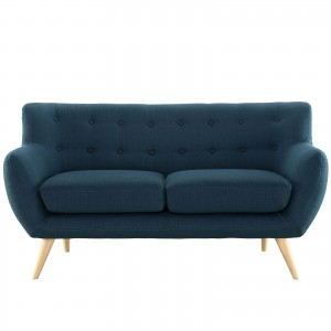Remark Loveseat, Azure by Modway Furniture