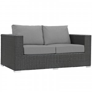 Sojourn Outdoor Patio Sunbrella Loveseat