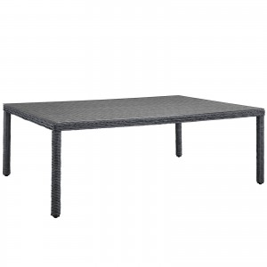 "Summon 90"" Outdoor Patio Dining Table"