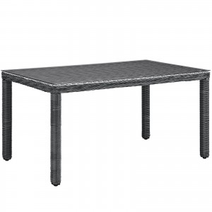 "Summon 59"" Outdoor Patio Dining Table"