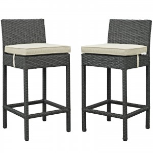 Sojourn 2 Piece Outdoor Patio Sunbrella Pub Set