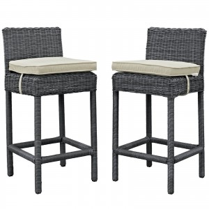 Summon 2 Piece Outdoor Patio Sunbrella Pub Set