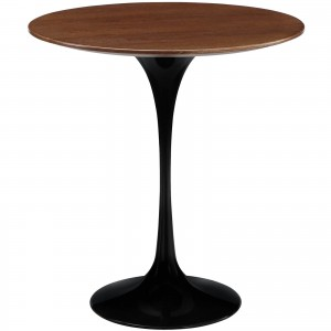 Lippa Wood Side Table, Black by Modway Furniture