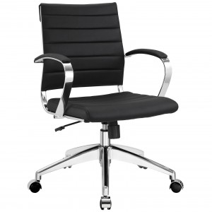 Jive Mid Back Office Chair, Black by Modway Furniture