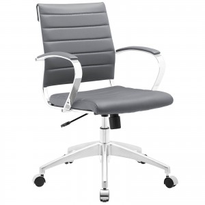 Jive Mid Back Office Chair, Gray by Modway Furniture