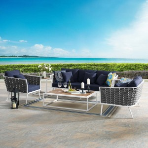 Stance Outdoor Aluminum Patio Set