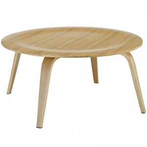 Plywood Coffee Table, Natural by Modway Furniture