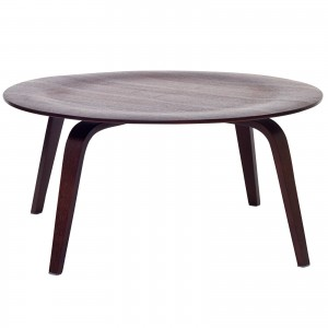 Plywood Coffee Table, Wenge by Modway Furniture