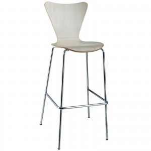 Ernie Bar Stool, Natural by Modway Furniture