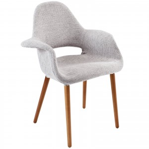 Aegis Dining Armchair, Light Gray by Modway Furniture