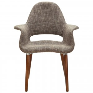 Aegis Dining Armchair, Taupe by Modway Furniture