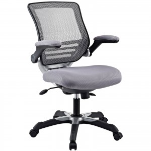 Edge Office Chair, Gray by Modway Furniture