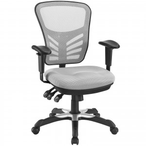 Articulate Office Chair, Gray by Modway Furniture