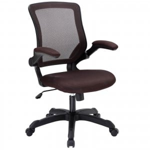 Veer Office Chair, Brown by Modway Furniture
