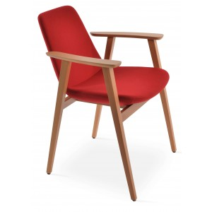 Eiffel Guest Arm Dining Chair