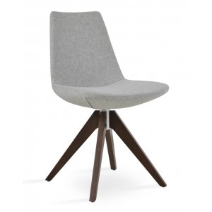 Eiffel Pyramid Swivel Dining Chair