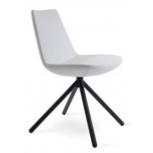 Eiffel Stick Swivel Dining Chair