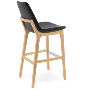 Eiffel Wood Bar Stool