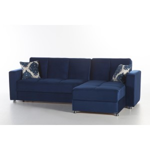 Elegant Reversible Sleeper Sectional