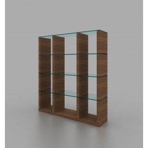 Elm Wall Unit by J&M Furniture