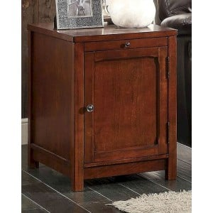 Booker Wood End Table by Homelegance