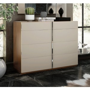 Cadiz Wood Veneer Single Dresser