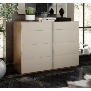 Cadiz Wood Veneer Single Dresser