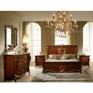 Donatello Wood Panel Bedroom Set