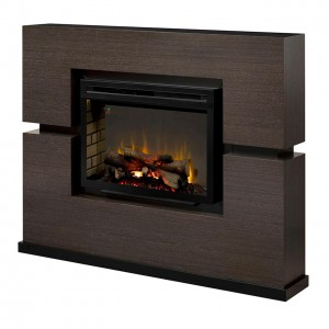 "Linwood Mantel Electric Fireplace, Realogs 33"" Firebox"