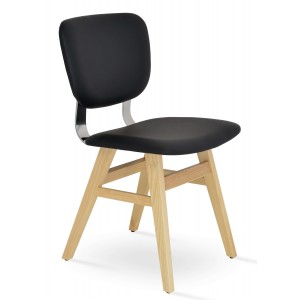 Hazal Wood Dining Chair