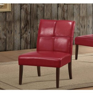 Oriana Bi-Cast Vinyl Accent Chair by Homelegance
