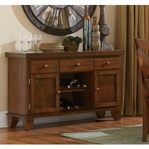 Silverton Classic Wood Buffet by Homelegance