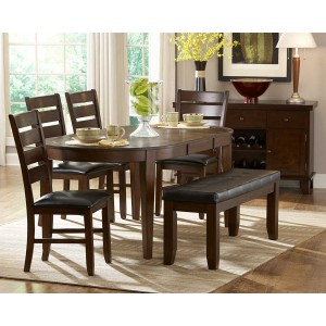 Ameillia Classic Oval Dining Room Set by Homelegance