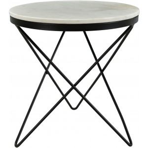 Haley Side Table, Black Base