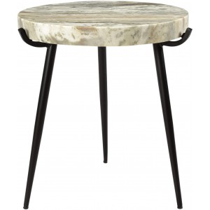Brinley Marble Accent Table