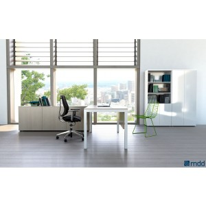 Impuls Executive Composition 2, Canadian Oak by MDD Office Furniture