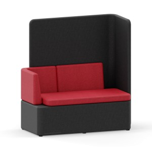 KAIVA Modular Large Seat with Left Backrest and High Right Screen