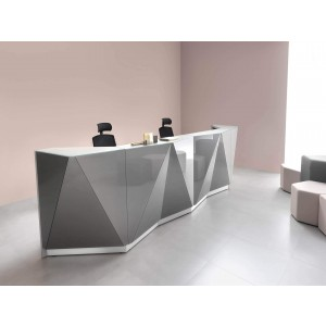 ALPA Customizable Reception Desk