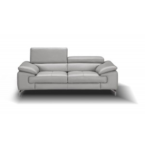 Liam Premium Leather Loveseat
