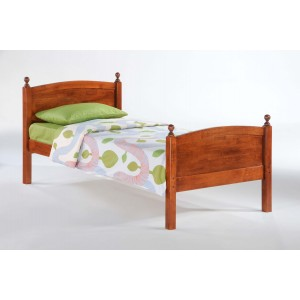 Licorice Wood Platform Bed