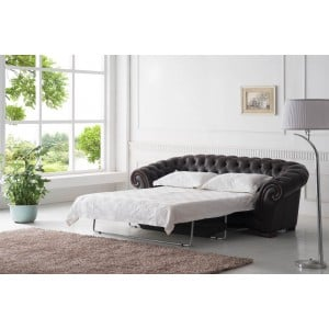 262 Leather Sleeper Sofa by ESF Furniture