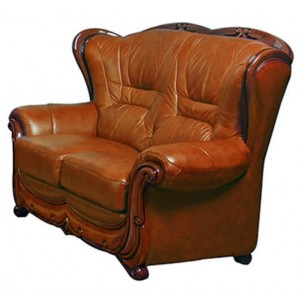 100 Leather/Leatherette Loveseat