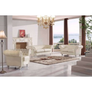 287 Leather/Eco-Leather Living Room Set by ESF Furniture