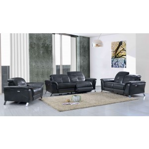 2619 Leather/Eco-Leather Living Room Set by ESF Furniture