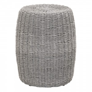 Loom Rope Accent Table