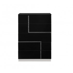 Lucca Modern Lacquer Chest