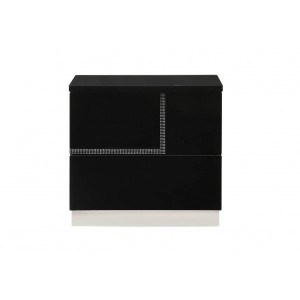 Lucca Modern Lacquer Right Nightstand
