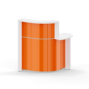 "WAVE 34"" Reception Desk with Countertop"