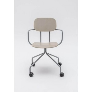 New School N03K Office Chair w/Castors